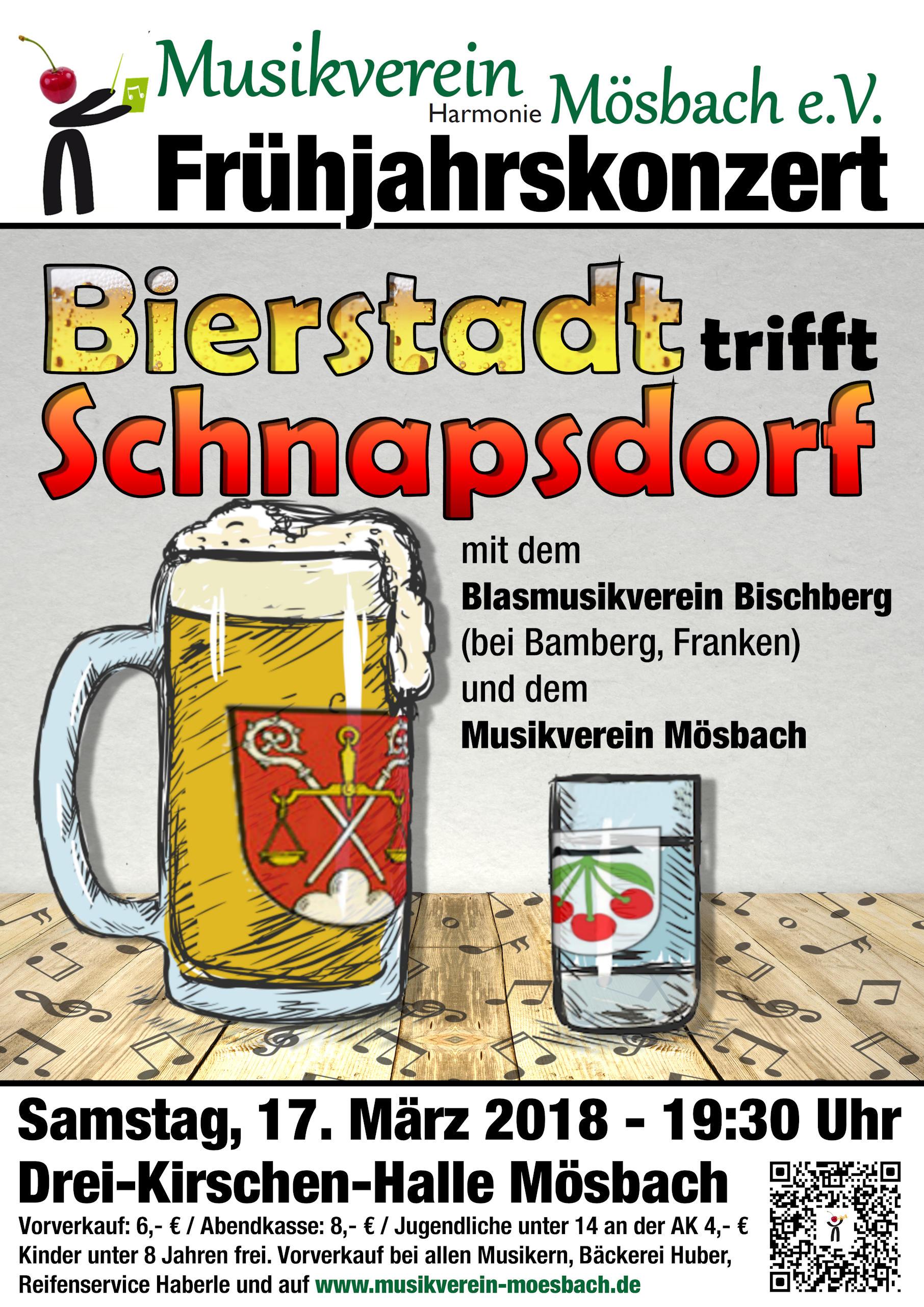 Frühjahrskonzert 2018 – Bierstadt trifft Schnapsdorf