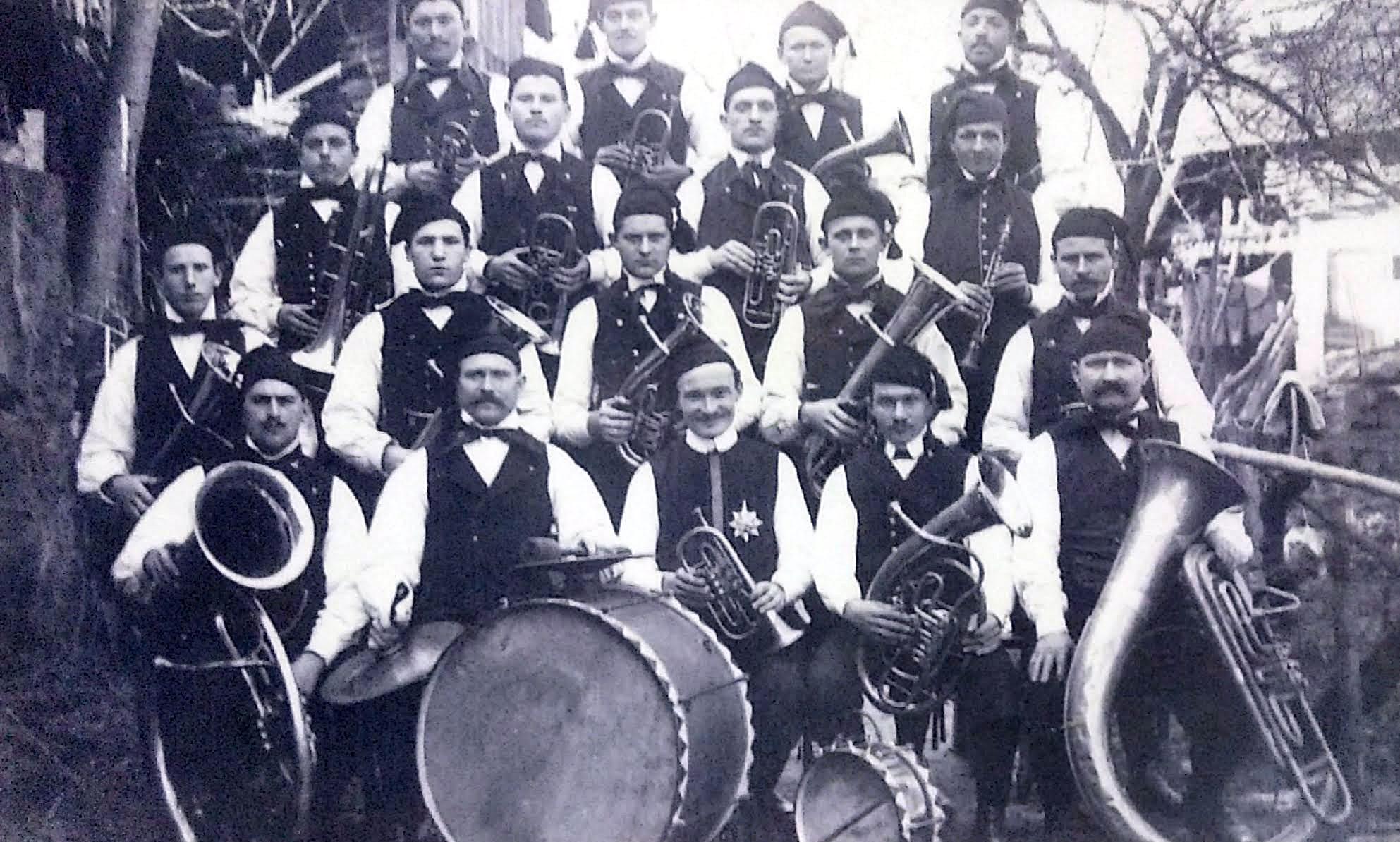 Musikverein Mösbach 1910