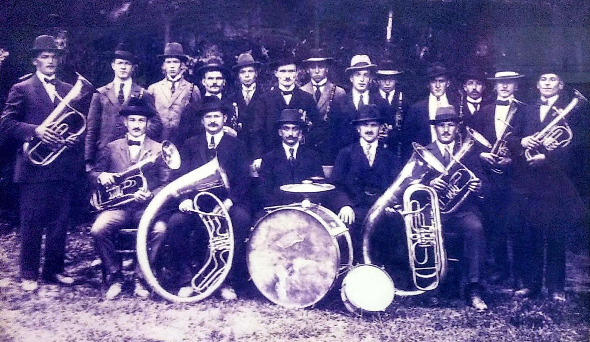 Musikverein Mösbach 1925