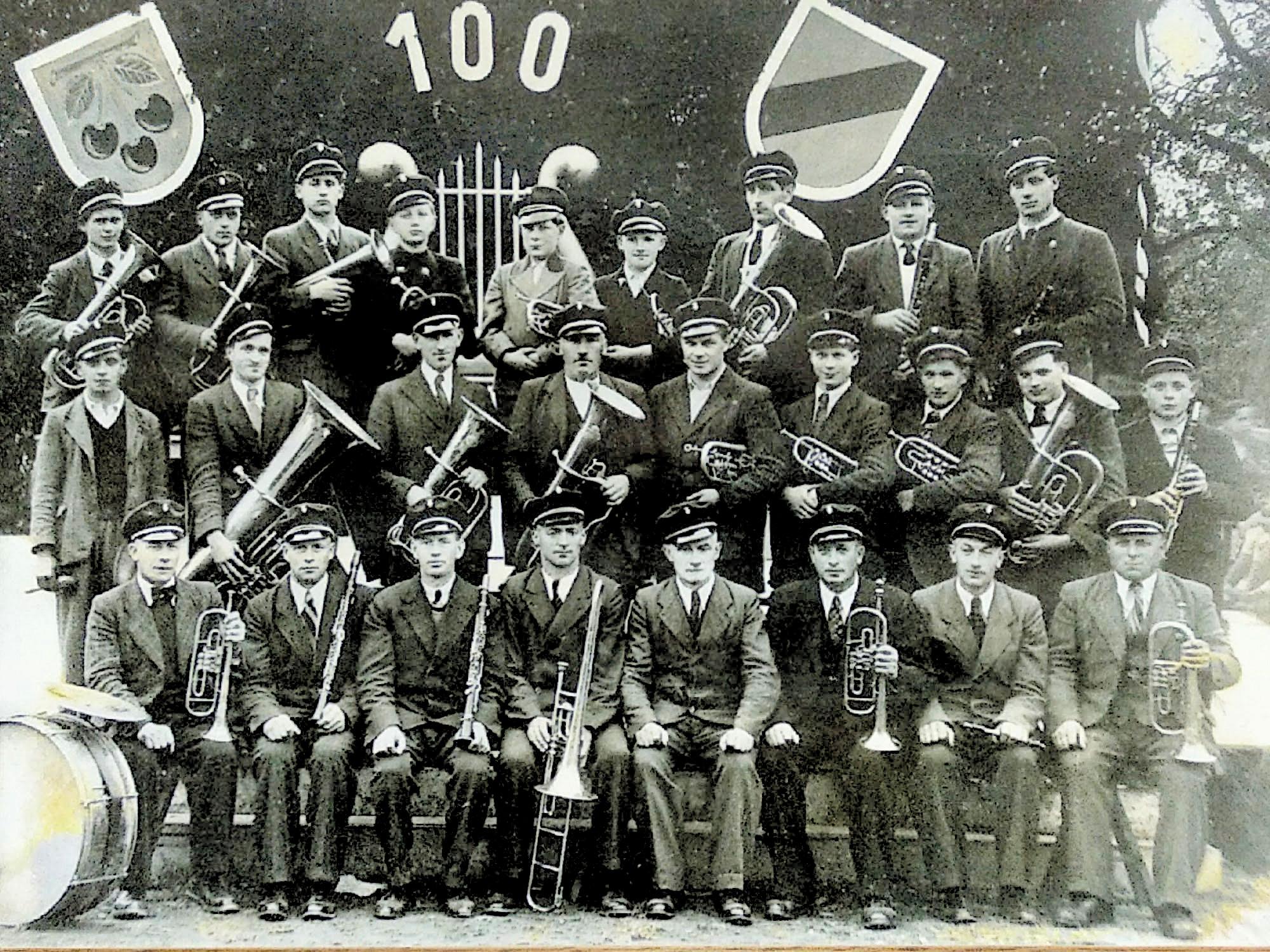 Musikverein Mösbach 1950