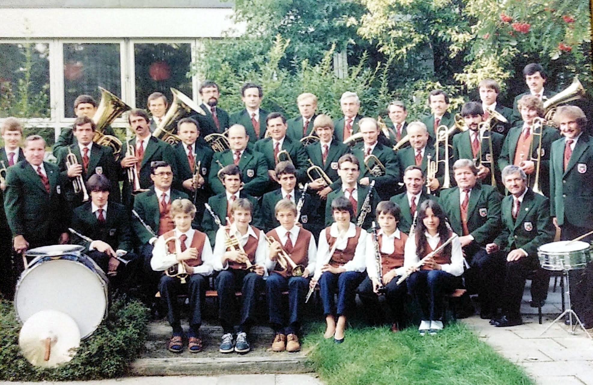 Musikverein Mösbach (ca.) 1985