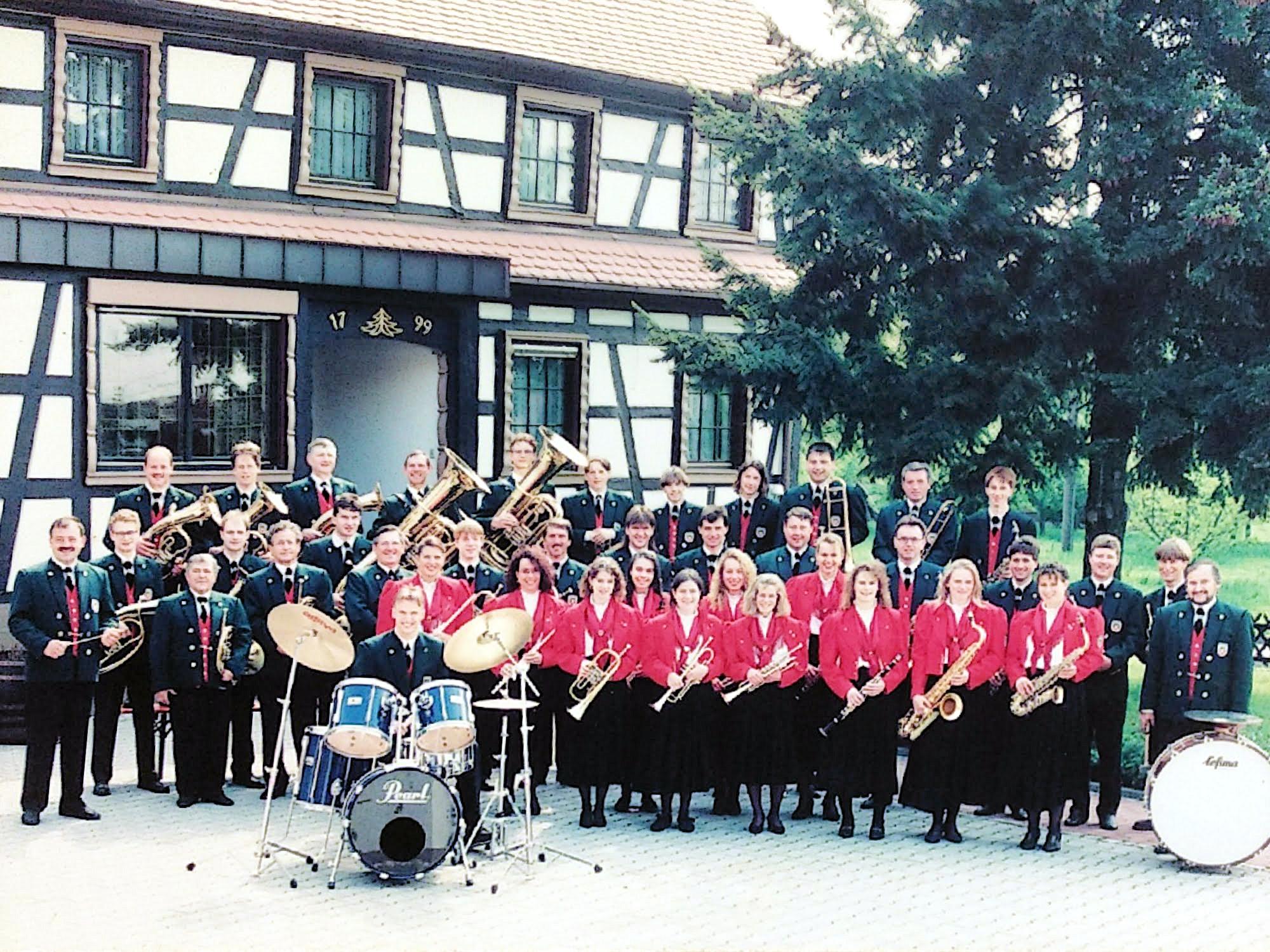 Musikverein Mösbach 1995
