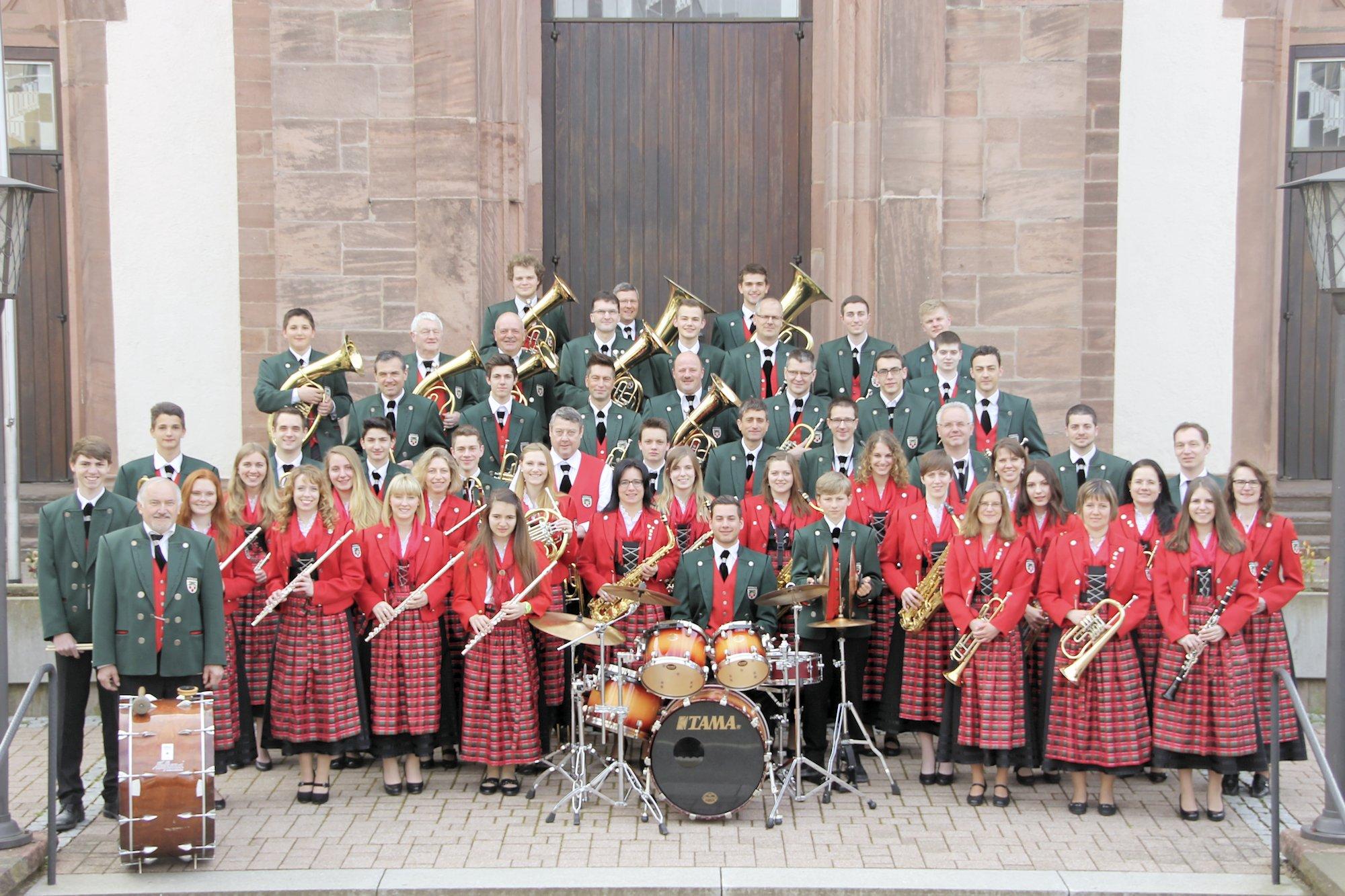 Musikverein Mösbach 2015